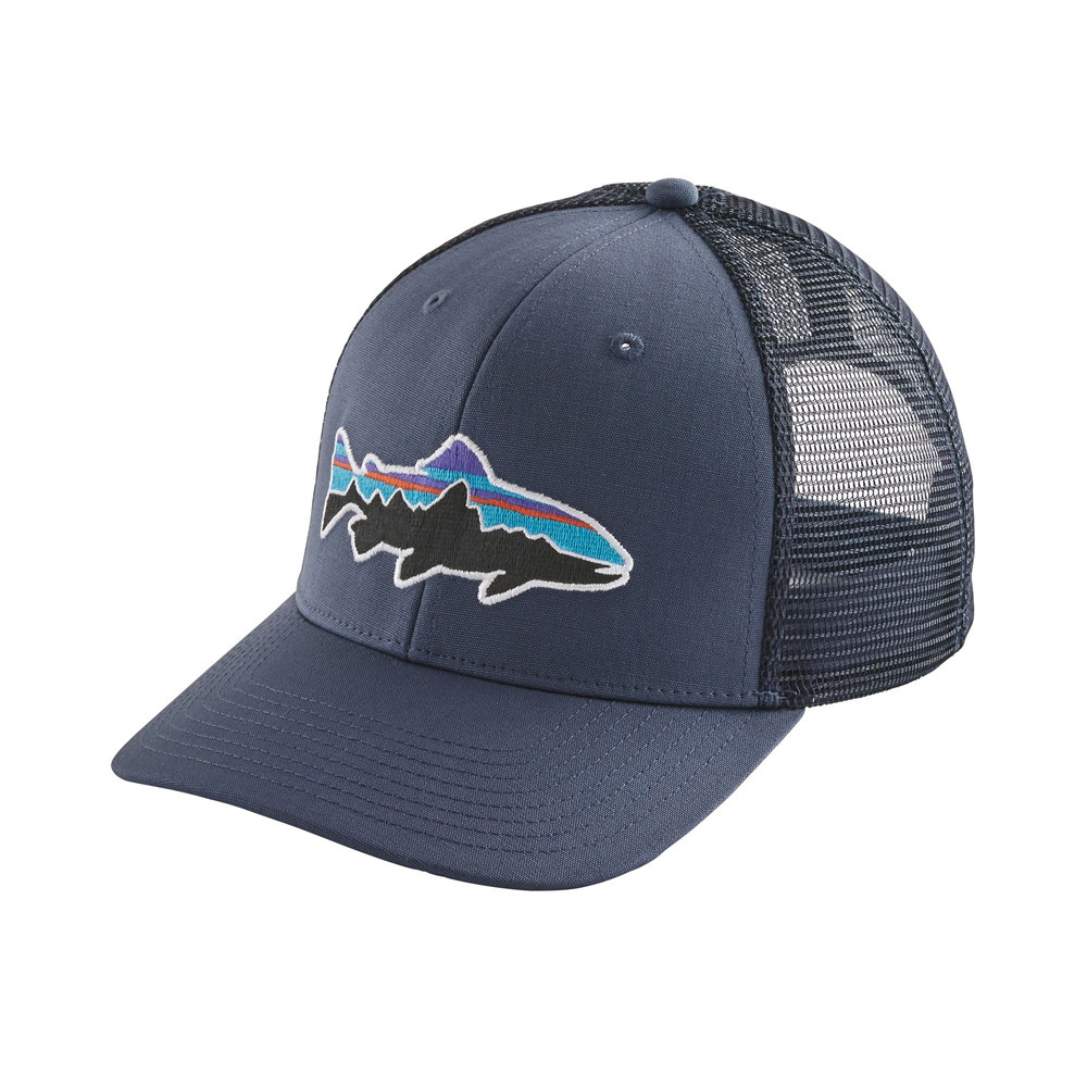 Patagonia fitz roy trout cap patagonia hats headwear for Patagonia fly fishing hat