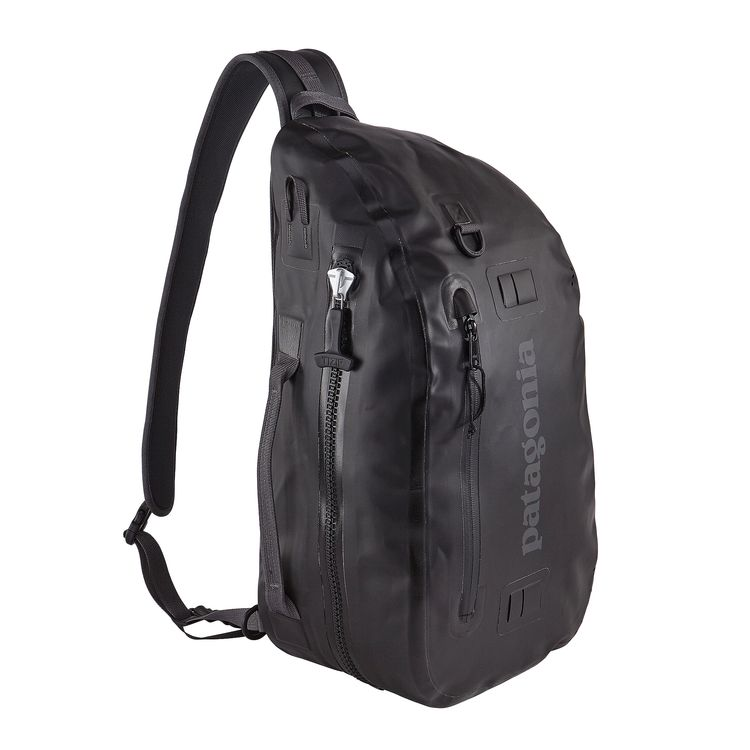 Patagonia stormfront sling 20l stormfront fly fishing for Fishing backpack with rod holder