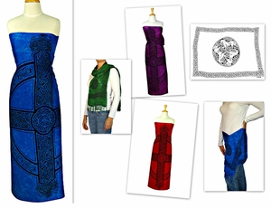 Celtic Sarongs Kedua Assorted