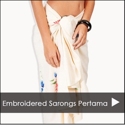 Embroidered Sarongs Pertama