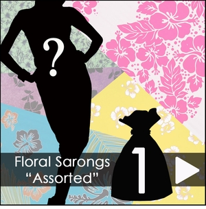 Floral Sarongs Assorted