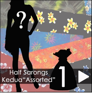 Half Sarongs Kedua Assorted