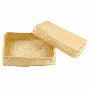 Hand Woven Square Gift Box