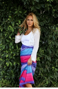 Light Weight Cotton Sarong in Ombre