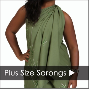 Plus Size Sarongs