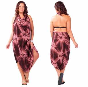 "Sarong ""Brown"" Smoked PLUS SIZE"