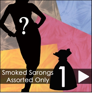 Smoked Sarongs Assorted