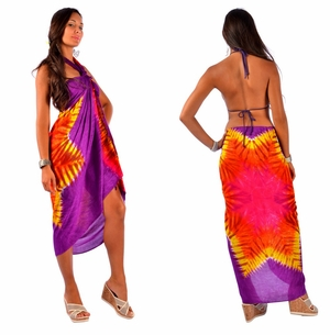 Tie Dye Sarong with Star