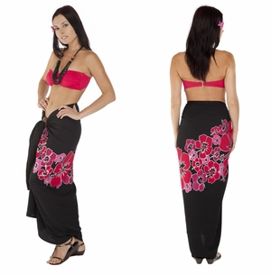 Top Quality Hawaiian Sarong in Pink