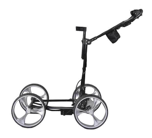 Clever Caddie Motorized Push Cart By Clever Caddie Golf