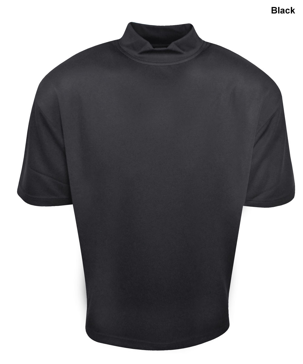 forrester short sleeve t neck mock by forrester golf
