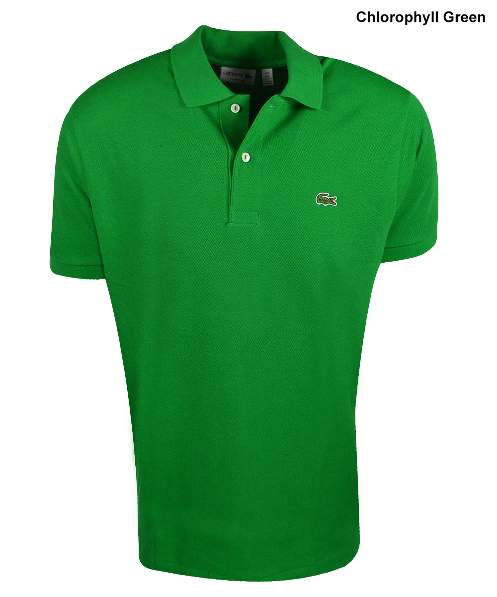 Lacoste sport short sleeve classic sleeve pique polo by for Short sleeve lacoste shirt