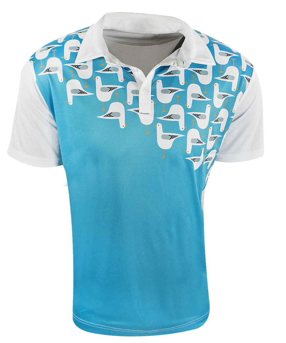 Loudmouth Bodega Bay Fancy Shirts By Loudmouth Golf Golf
