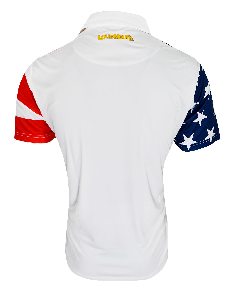 Loudmouth Stars And Stripes Fancy Shirt By Loudmouth Golf