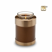 Adore Bronze Brass Tealight
