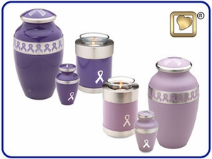 Awareness Solid Brass Urns