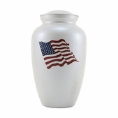 Classic Color Flag Urn
