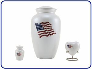 Classic Color Flag Urns