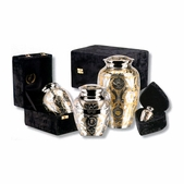Classic SilverGold Series Urn - Medium