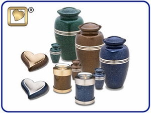 Classic Speckled Urns Collection