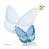 Keepsake Urn Wings of Hope Blue