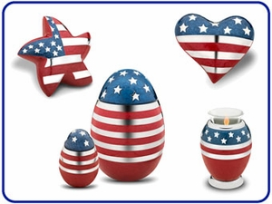 LoveUrns patriotic Collection