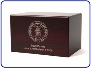 Military Box Urns Collection
