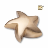 Star Brushed Gold Keepsake