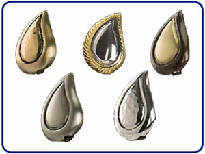 Teardrop Cremation Jewelry