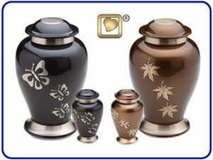 Tribute Solid Brass Urns