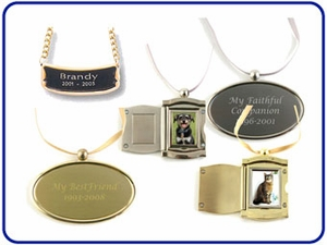 Urn Nameplates and Medallions