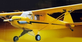 "1/6 Scale Nitro Gas J-3 Piper Cub 40 - 71"" ARF Remote Control Airplane"