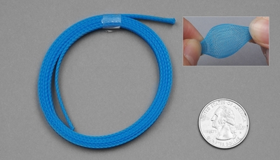 1 Meter Wire Mesh 5mm (Blue)