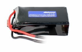 "14.8V 1500mAh 15C ""Exceed RC Fusion Power Series"" High Performance Lithium Polymer Battery 10B69_111v15c1500mAh"