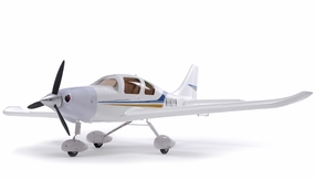 2.4Ghz Extreme Detail 4-Channel AirField RC Sky Trainer 400 Radio Control Airplane w/ Brushless Motor/ESC/Lipo 100% RTF *Super Scale* EPO Foam Plane (White) RC Remote Control Radio