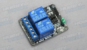 2-channel relay module relay expansion board relay module, optical coupling 5V Arduino Compatible