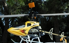 2007 New Esky 6 CH Honey Bee King II CCPM 3D Aerobatic Radio Remote Control Electric RC Helicopter RTF (Yellow)