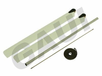 200L Wooden Blades & Tail Boom Conversion Set(with H200 Belt) GauiParts-203324