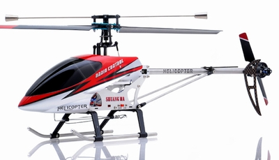 """26"""" Double Horse 9104 Helicopter 3 channel Single Rotor RC Helicopter RTF Ready to Fly (Red) RC Remote Control Radio"""