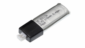 3.7v 130 mAh Lipo Battery 28P-WLV911-19-New-130