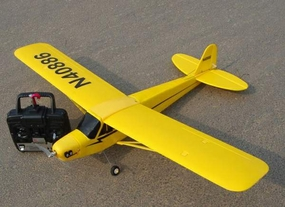 3-Channel LS J3 Piper Cub Radio Remote Controlled Electric RTF Airplane 16A02_3CHJ3