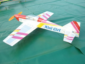 3-Channel Mini Girl Brushless Electric Radio Remote Controlled RC Airplane Kit 12A05_ARFMiniGirl