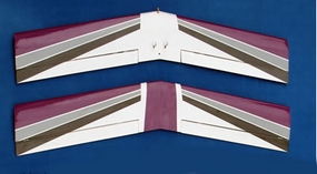 "30"" Wing Set ARF_ElectricUltimatePurple_WINGSET"