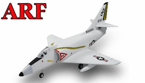 4-CH AirField 64mm A4 Ducted Fan RC Jet Receiver-Ready w/ Brushless Motor+ESC (Grey) RC Remote Control Radio 93A200-A4-Grey-ARF