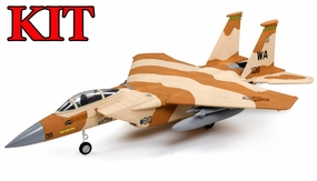 4-CH AirField 64mm F15 Ducted Fan RC Jet Kit w/out electronics (Desert Camo) 93A15-F15-DesertCamo-Kit