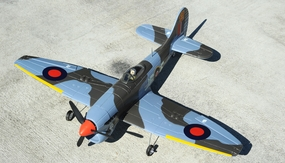 4-CH AirField Mini Hawker Tempest 800 Series ARF Electric Warbird w/ Brushless Motor  RC Remote Control Radio