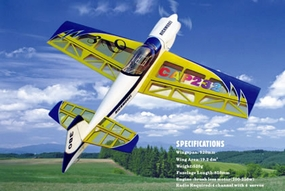 4-Channel Cap 232 3D EP ARF Brushless Plane Electric  led RC Airplane RC Remote Control Radio
