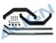 450 Landing Skid Set/Black HS1294AA