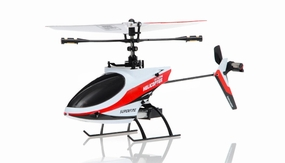 4CH Mini RC Helicopter 9958 hot selling 2.4GHz Single-Propeller with Gyro  (Red) RC Remote Control Radio
