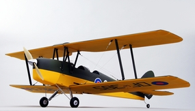 5-Channel CMP Tiger Moth 1250MM RC Bi-Plane ARF w/ Motor+ESC+Servos RC Remote Control Radio